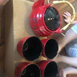 Sake tea set